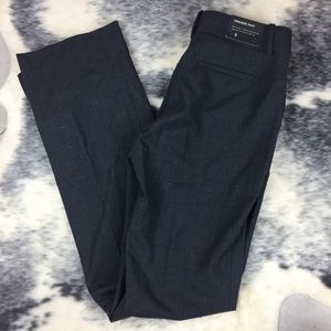 J Crew Heathered Grey Trouser Pant 0 NWT